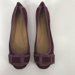 Nine West Shoes - Nine West Womens Shoes Purple Slip On Size 9.5